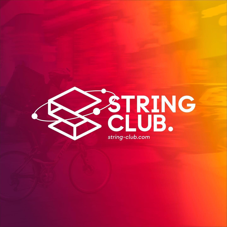 Identidad corporativa String Club
