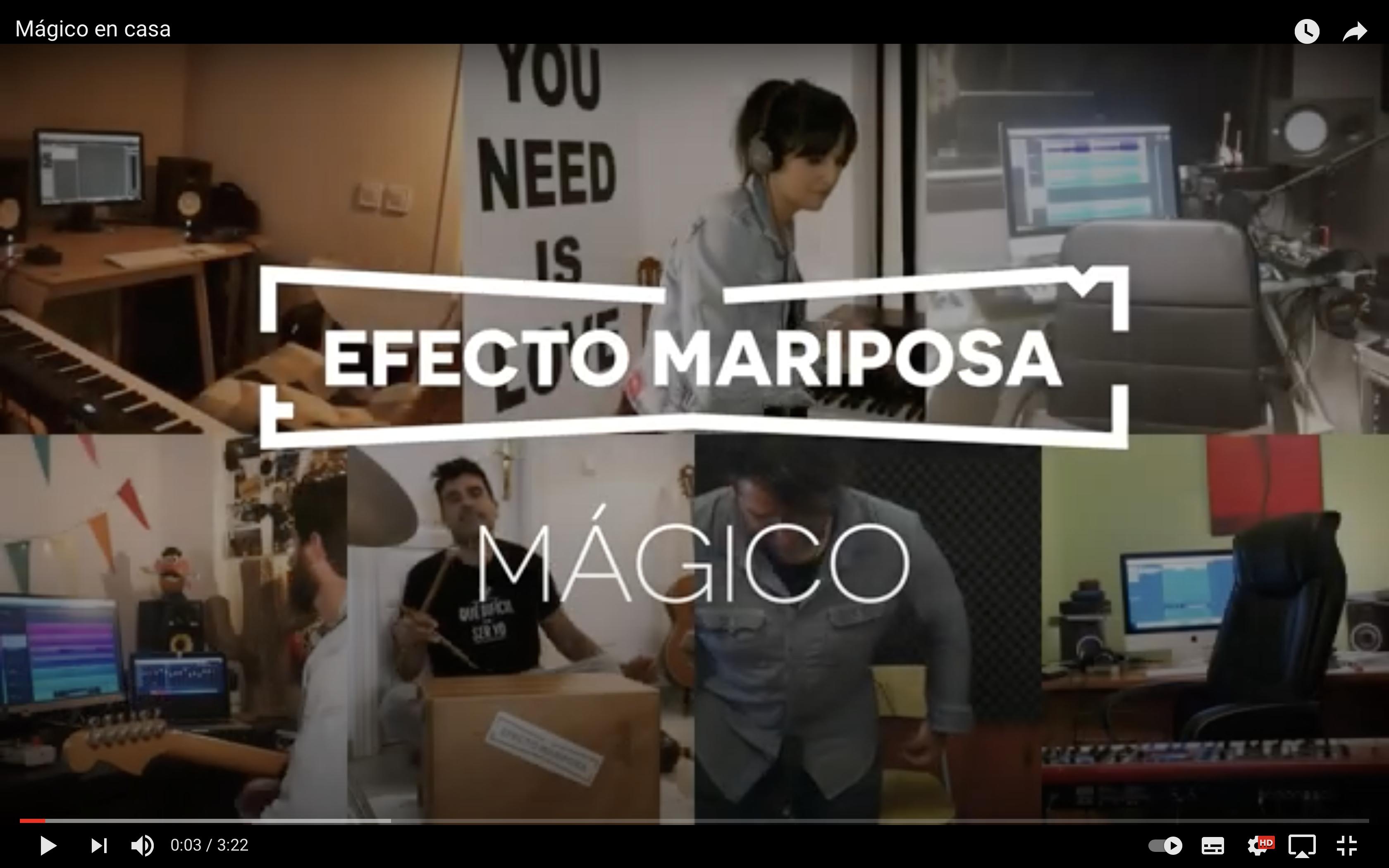 Mágico en casa - Efecto Mariposa
