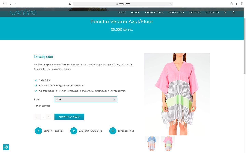 Tienda online Wanöpo